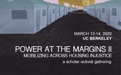 Conference CFP:  Power at the Margins II